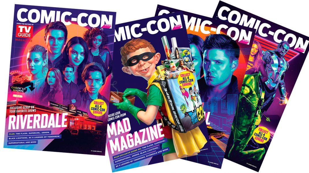 Warner Bros Unveils Comic Con Tv Guide Magazine Covers Gamingshogun