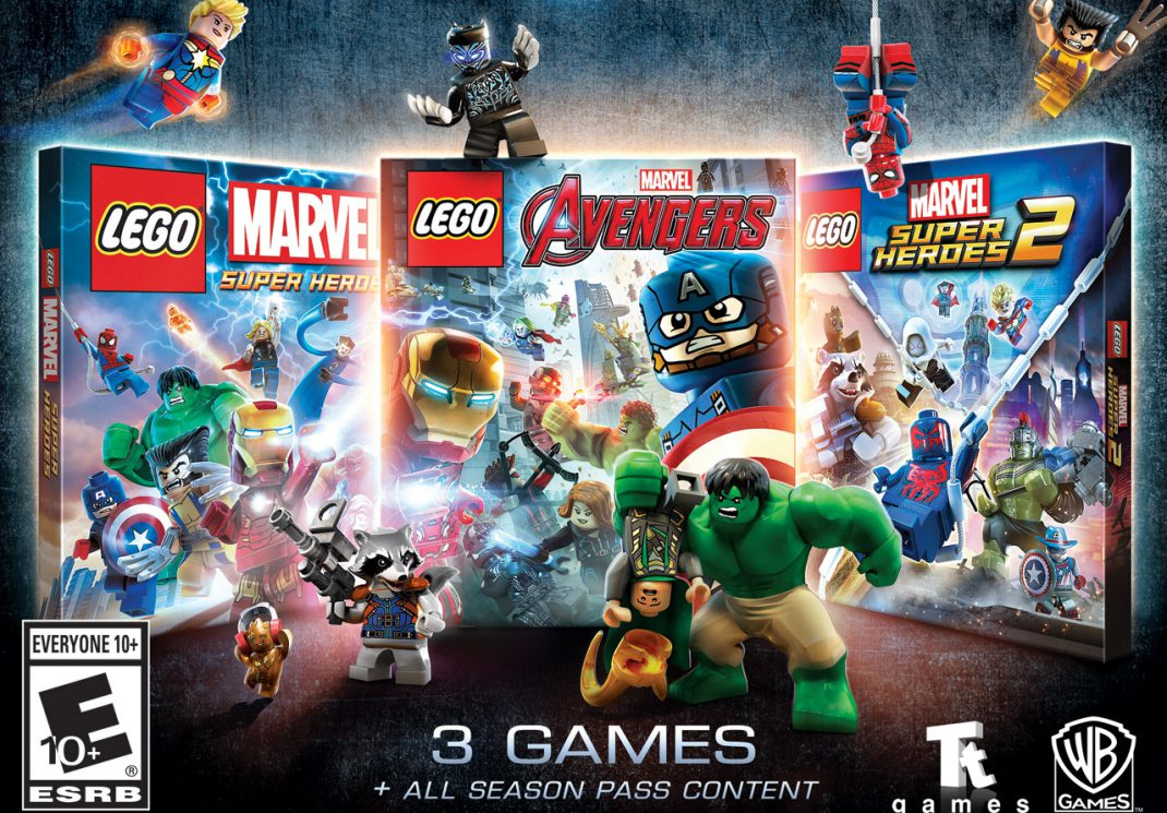 lego marvel collection announced