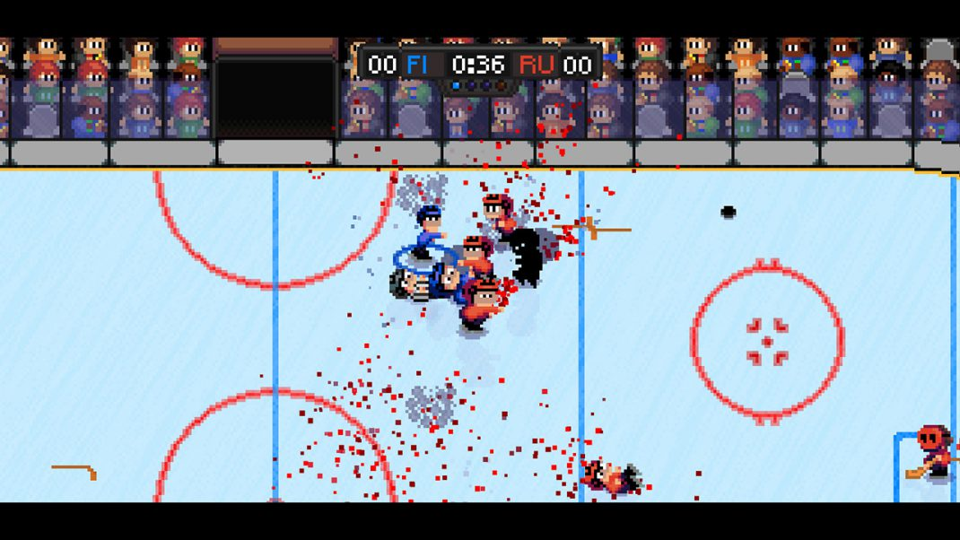 Super Blood Hockey Coming To Nintendo Switch Gamingshogun
