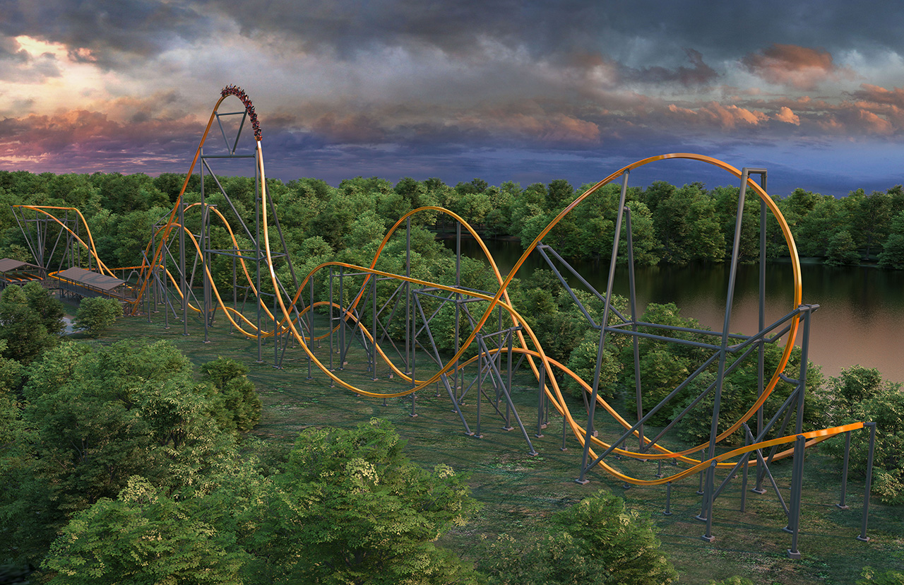 Jersey Devil Coaster to Break Three World Records at Six