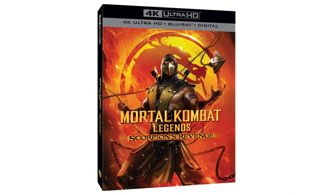 Mortal Kombat Legends Scorpion S Revenge Release Date